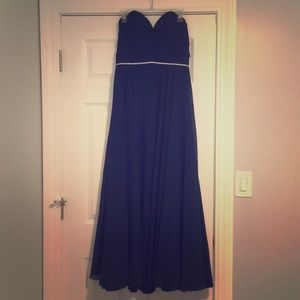 Navy Blue Christina Wu Dress